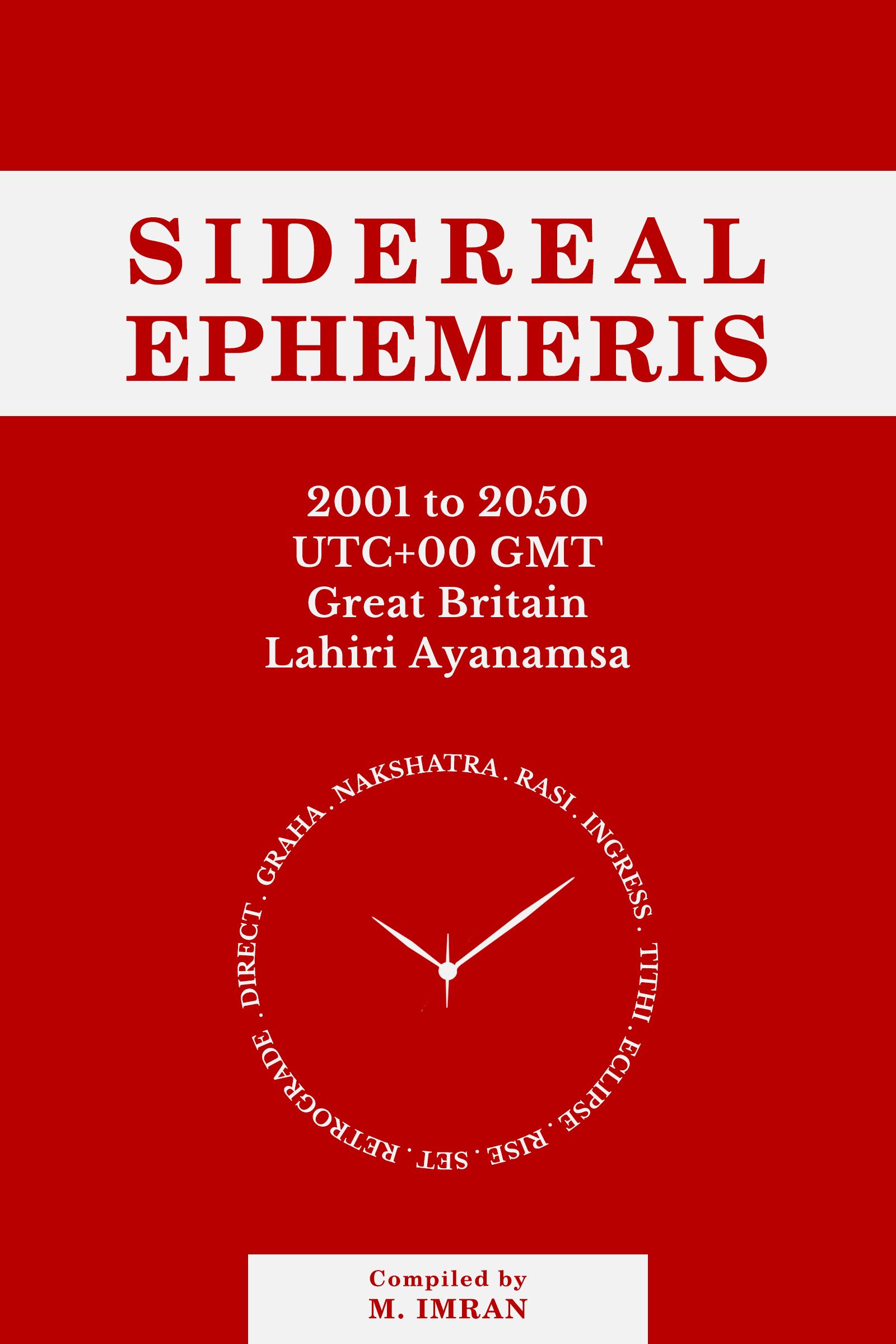 Sidereal Ephemeris